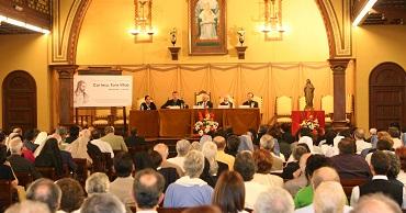 Acto de inauguración de curso (Barcelona)